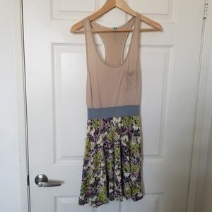 Free People Tank Top Floral Dress Size SP